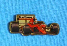 1 PIN'S //  ** FORMULE 1 / FERRARI 412 T2 N°27 / ALAIN PROST / 1991 ** - Ferrari