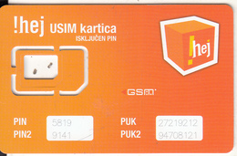 BOSNIA - HEJ GSM, Used - Bosnia
