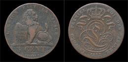 Belgium Leopold I 5 Centimes 1833 - 1831-1865: Leopold I