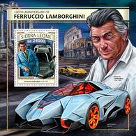 Sierra Leone 2016 Ferruccio Lamborghini  , Cars - Sierra Leone (1961-...)