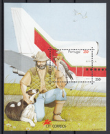 Portogallo 1994 Sc. 2012 Falco Falconiere Sheet Perf. MNH Birds Uccelli Rapaci - Aquile & Rapaci Diurni