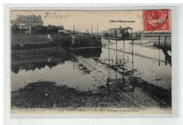 35 SAINT MALO LE PONT ROULANT A MAREE BASSE N° 225 - Saint Malo