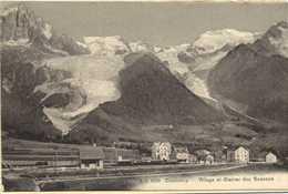 CHAMONIX Village Et Glacier Des Bossons   RV - Chamonix-Mont-Blanc