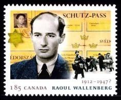 Canada (Scott No.2618 - Raoul Wallenberg) (**) - 1952-.... Règne D'Elizabeth II