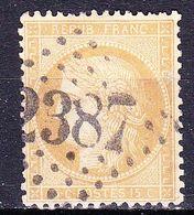 France-Yv 55, GC 2387 Monaco (87) - 1849-1876: Classic Period