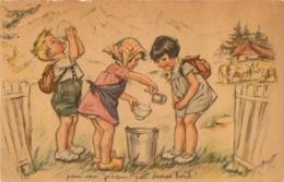 GERMAINE BOURET  EDITEE PAR LE COMITE NATIONAL DES COLONIES DE VACANCES SERIE 1938 N°2 - Bouret, Germaine