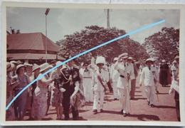Photo KONING BOUDEWIJN KONGO CONGO 1955 Roi Baudouin Royauté Koninkelijke Familie Belgïe Afrique Africa - Identified Persons