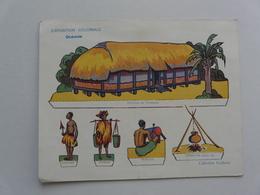 VIEUX PAPIERS - DECOUPAGES POUR INSTRUIRE LES ENFANTS TOUT EN LES AMUSANT : Exposition Coloniale - Océanie - Vieux Papiers