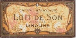 Savon,  Lait De  Son - De Remy - ( 177 Mm X 90 Mm ) - Etiquetas