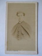 CDV Photographie De Martin Flammarion à MOULINS ( 03) - Portrait Jeune Religieux - BE - Anciennes (Av. 1900)