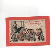 BRUXELLES MANNEKEN-PIS ILLUSTRATEUR Les Espiegleries N° 7914 An: 1906 Etat: Bon Edit: Marcovici - Personnages Célèbres