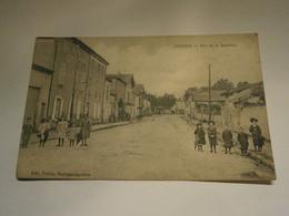 Lezoux Rue De La Baronne,puy De Dôme 63,voyagée 1916,TBE,cachet Militaire - Lezoux