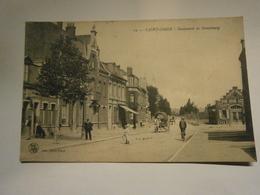 Saint Omer Boulevard De Strasbourg,Pas De Calais 62,écrite 1917,TBE - Saint Omer