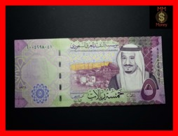 SAUDI ARABIA 5 Riyals  2016 P. 38 A   UNC - Saudi Arabia