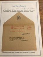 Lettre 1948 Cie Messageries Maritimes Cachet Mécanique - Marcophilie (Lettres)
