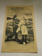 Les Sables D'olonne Jeunes Sablais,Vendée 85,voyagée 1934,TBEpas Commun - Sables D'Olonne