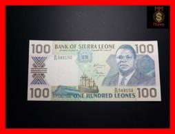 SIERRA LEONE 100 Leones 27.4.1989 P. 18 B  UNC - Sierra Leone