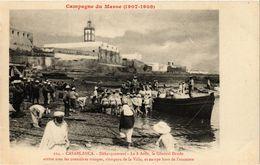 CPA AK MAROC CASABLANCA - Debarquemant (213383) - Casablanca