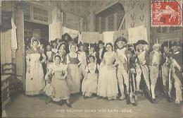 9704 CPA Pièce De Théâtre - Mme Réjane Dans Madame Sans Gêne - Teatro