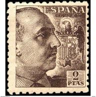 ES932TV-LTV***932STEUESPTANSC.Spain.Esgane .Militar,politico.FRANCO Sanchez Toda.Dentado Grueso.1940/5.(Ed 932**) - 1931-Hoy: 2ª República - ... Juan Carlos I