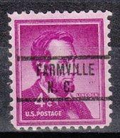 USA Precancel Vorausentwertung Preo, Locals North Carolina, Farmville 734 - United States
