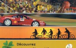 Conseil Général De L'Allier - Sports VTT Basket - Automobile Circuit De Lurcy Lévis - Challenge Ferrari - Sport Automobile