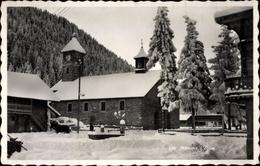 Cp Morgins Kanton Wallis Schweiz, Eglise - VS Valais