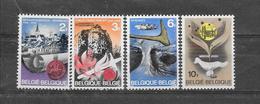 België 1968 Y&T Nr° 1448/51 (**) - Unused Stamps