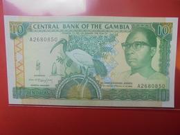 GAMBIE 10 DALASIS 1991-95 PEU CIRCULER/NEUF (B.12) - Gambia