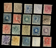 Espagne - Espana - Oblitéré - Lot De 20 Timbres Scannés Recto Verso - - Espagne