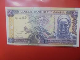 GAMBIE 50 DALASIS 2001-2005 PEU CIRCULER/NEUF (B.12) - Gambia