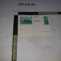 FB0654 POSTA TRASPORTI CARTOLINA POSTALE - Interi Postali