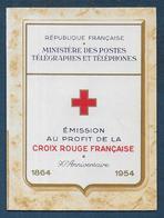 Carnet CROIX ROUGE  1954  **  - Cote : 180 € - En Parfait état - Rotes Kreuz