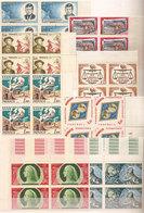 (Fb).Monaco.1964/66.-11 Serie Complete In Quartine,nuove,gomma Integra,MNH (3 Scan) (34-20) - Neufs
