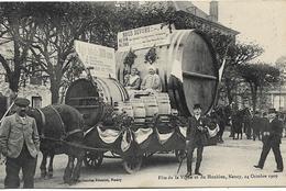 NANCY Fête De La Vigne Et Du Houblon 1909 - Nancy