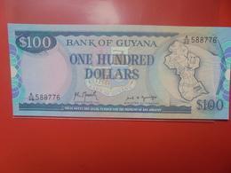 GUYANE 100$ 1989 PEU CIRCULER/NEUF (B.12) - Guyana