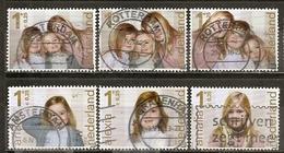 Pays-Bas Netherlands 2012 Princesses Set Complete Obl - Periodo 1980 - ... (Beatrix)