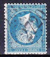 France-Yv 22, GC 2720 Ollioules (78) - Marcophilie (Timbres Détachés)