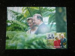 BELG.1999 2828 Mcard : 40 Ans Du Mariage Du Couple Royal - FDC
