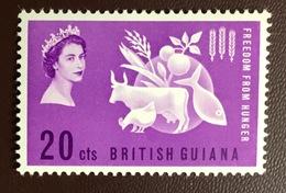 British Guiana 1963 Freedom From Hunger MNH - Guyane Britannique (...-1966)