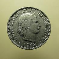 Switzerland 20 Rappen 1913 - Schweiz