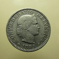 Switzerland 20 Rappen 1894 - Schweiz