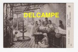 DF / ALGÉRIE / SCÈNES & TYPES / LE JARDIN DU HAREM TABLEAU DU PEINTRE A. AUBLET , SALON 1911 - Scenes