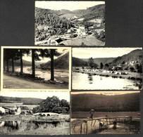 Vresse - Lot 5 Cartes (animée Camping Pont De Claie)  (petit Prix Fixe) - Vresse-sur-Semois