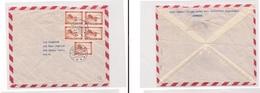 Denmark - Cover  -. 1962 Hellerup Multfkd Env Block 4 Air To USA New Haven. Easy Deal. - Ohne Zuordnung
