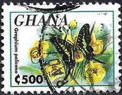 Ghana 1995 - Mi 2193 - YT 1413 ( Butterfly ) - Ghana (1957-...)