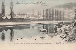 Besançon, En Temps De Neige, Vu De Chaudanne. Phot. D. & M. - Besancon