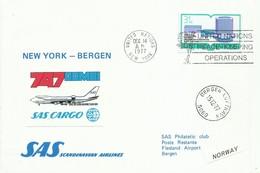 NEW YORK, SOBRE CONMEMORATIVO  SAS   AÑO  1977 - New-York - Siège De L'ONU
