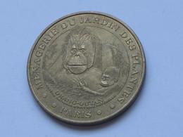 Monnaie De Paris 2003 - Ménagerie Du Jardin Des Plantes - ORANG-OUTAN  **** EN ACHAT IMMEDIAT **** - Monnaie De Paris