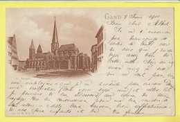 * Gent - Gand (Oost Vlaanderen) * (4285 Ter R. & J. D.) église Saint Jacques, Sint Jacobs Kerk, Church, TOP 1900 - Gent